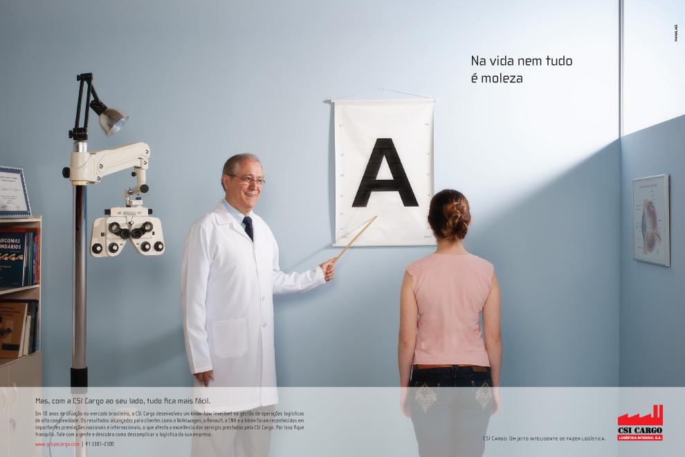 Anúncio Oftalmologista