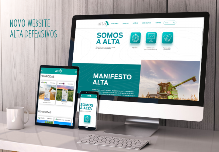 Manalais lança novo website da Alta Defensivos