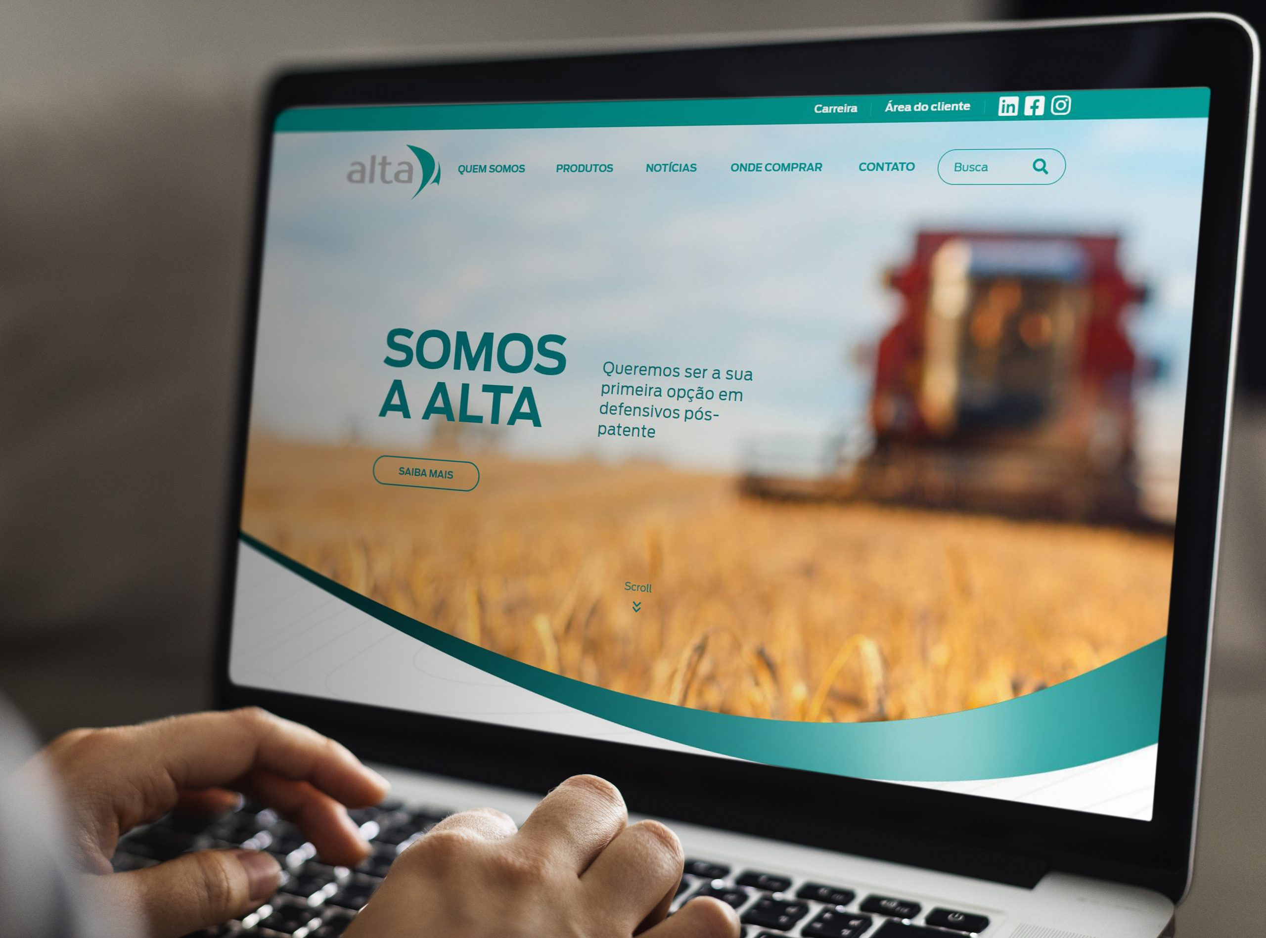 Website Alta Defensivos